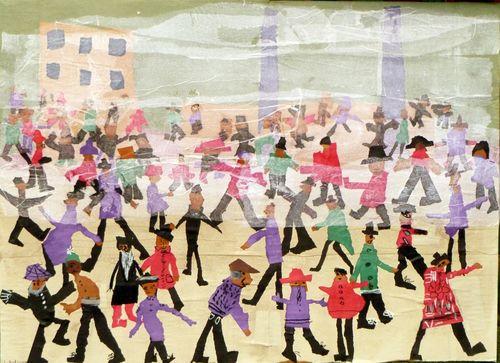 """Lowry """"Foggy Crowd"""""""