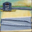 Beach Hut: Denim Collage