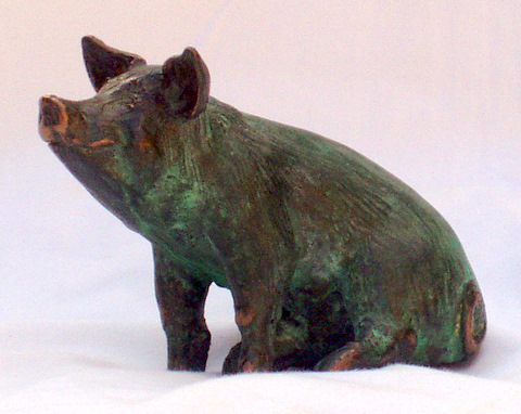 Piglet: miniature pig