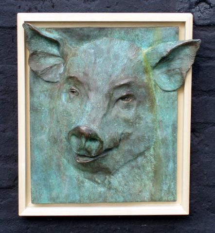 Large Pigs Head. For Sale @ £180.00