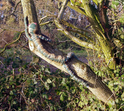 Lizard: Marriott's Way Sculpture Trail 2008