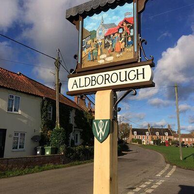 Aldborough Village Sign