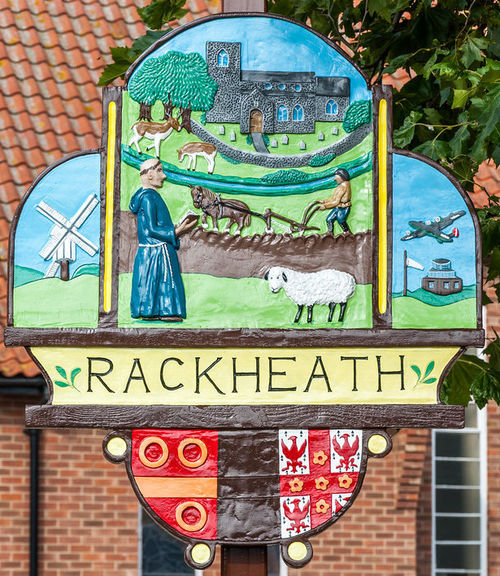 Rackheath village sign