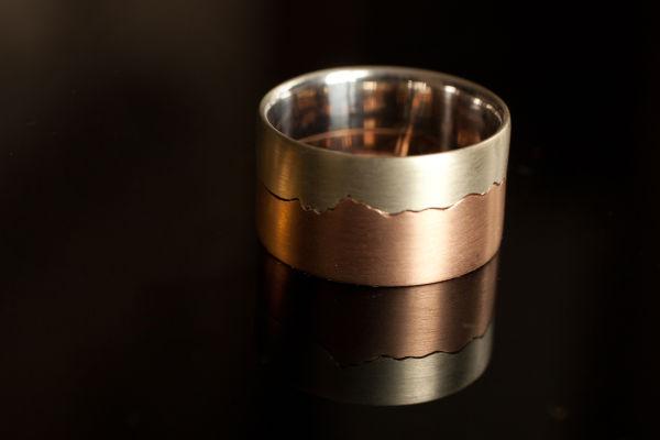two colour cullin ridge ring