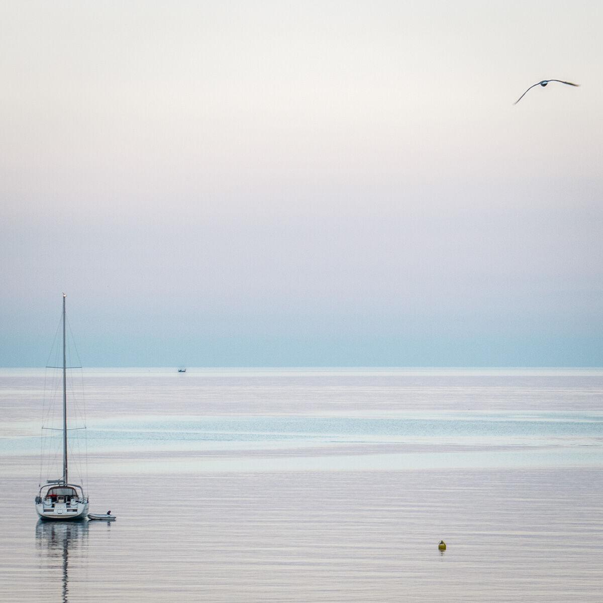 Dawn on the Adriatic Sea
