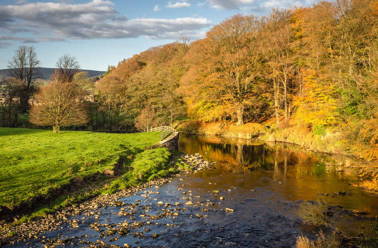 River Hodder in Autumn