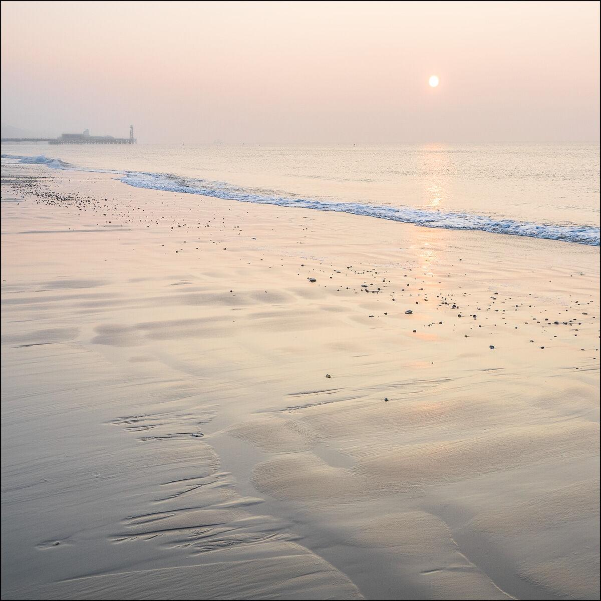 Sunrise over Bournemouth Pier
