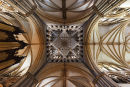 Lincoln Cathedral crossing ceiling