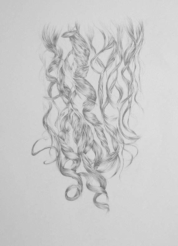 Antonia's Hair 2 detail