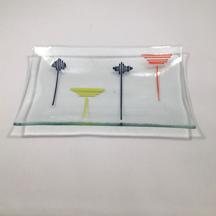 field pattern dish