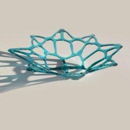 delicate aqua blue