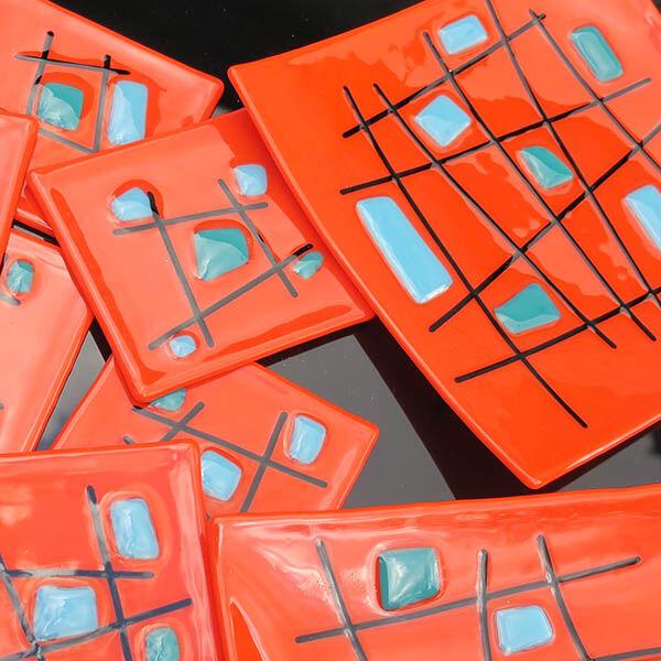 criss cross orange set