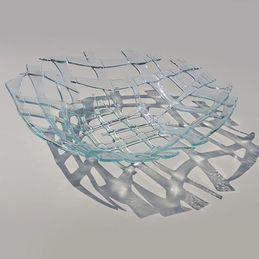 defined glass dish