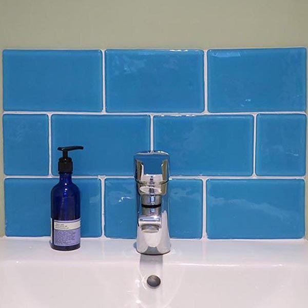 handmade glass tiles to order