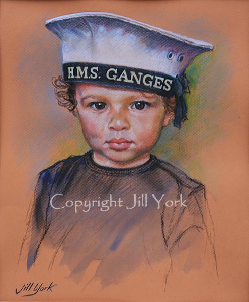 Boy in Sailors Cap