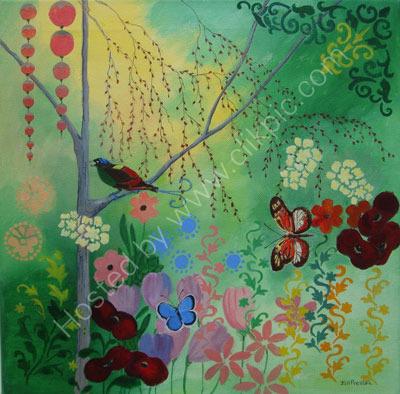 Paradise Garden  SOLD