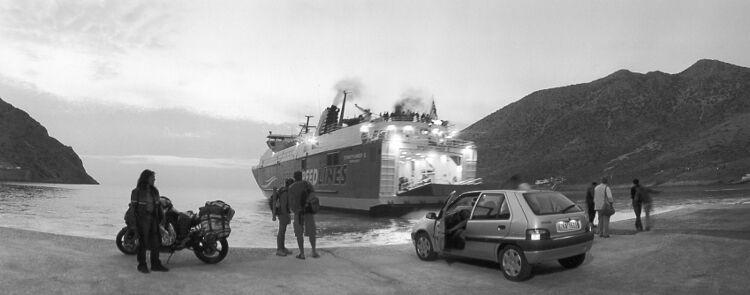 ferry leaving