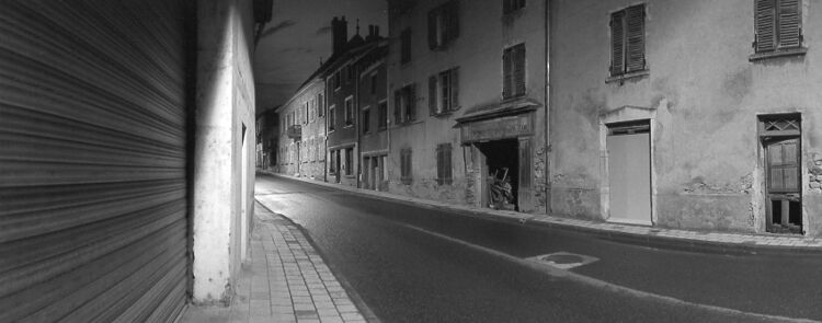 empty street - night