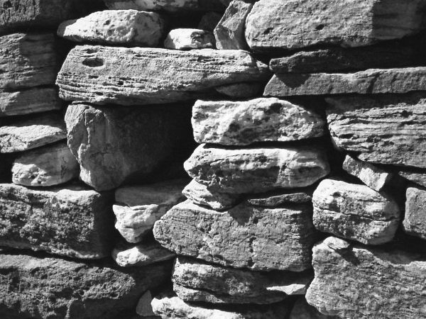 dry stone wall #3