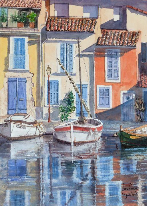 Canal St Sebastian Martigues