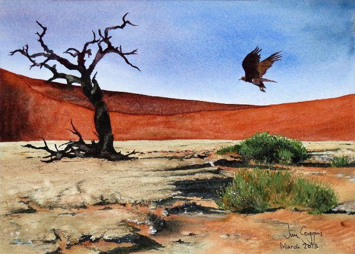 I walked in the desert