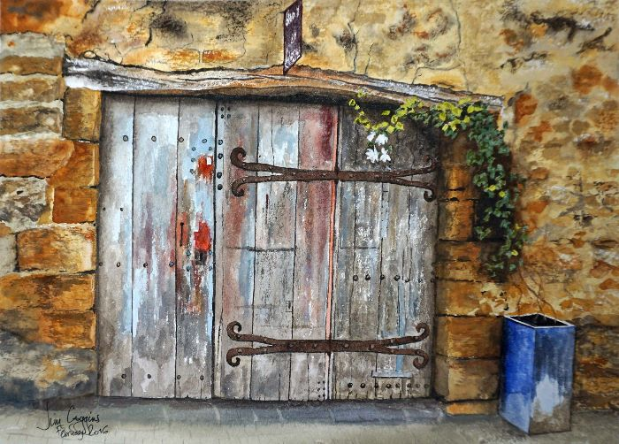 Old Door Roussillon France