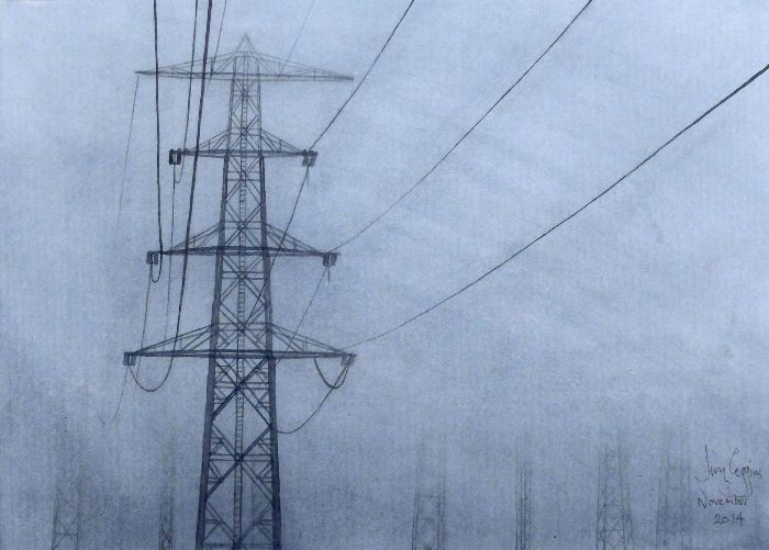 Pylons in the Mist
