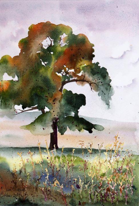 Tree after Georgia OKeefe