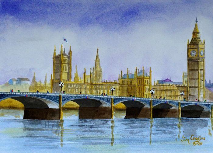 Westminster Bridge after Charles Evans