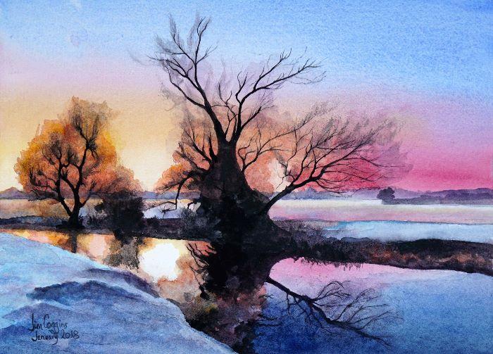 Winter Tree at Stony Stratford