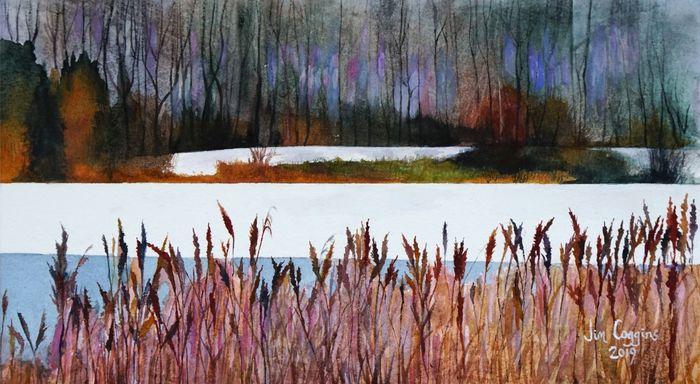 Winter at Tongwell Lake