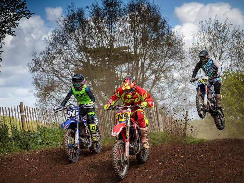 Motocross at Coleorton, Leicestershire