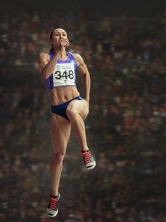 Jessica Ennis-Hill - Loughborough International Athletics