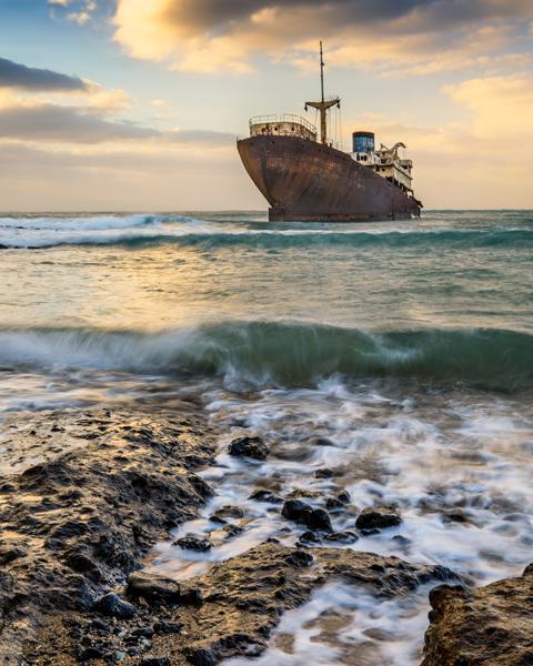 Telamon Shipwreck, Lanzarote