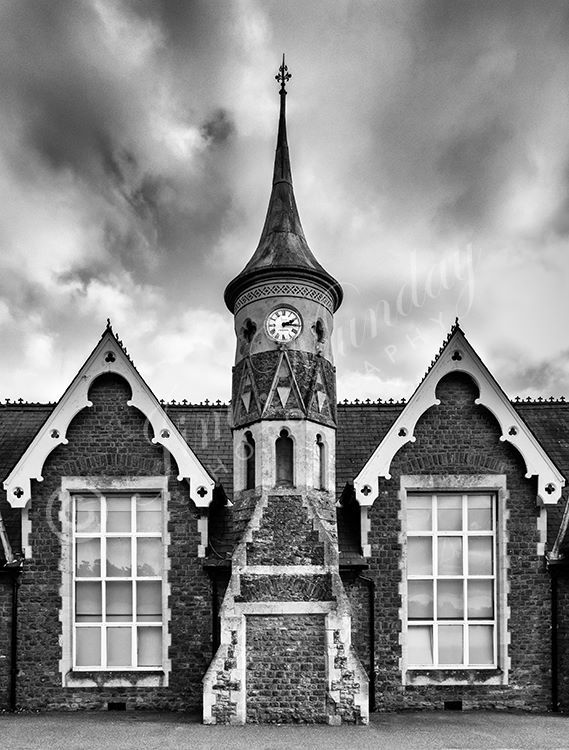 Victorian School Clock Tower