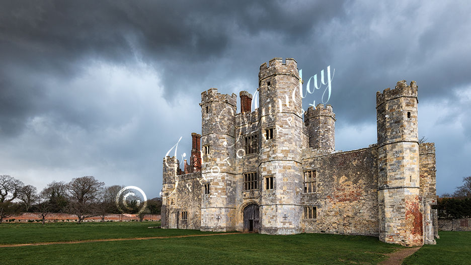 Hailstorm Over Titchfield Abbey