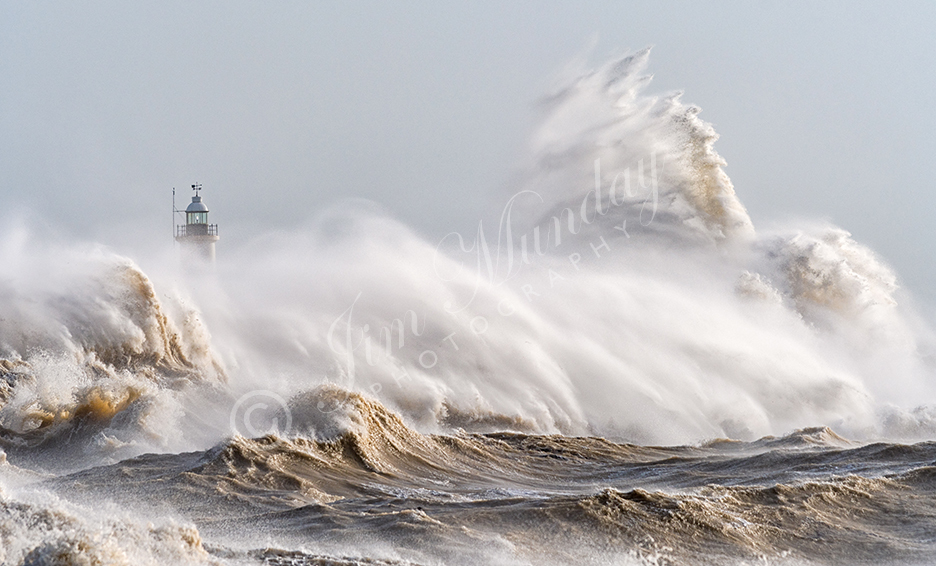 Storm Eleanor at Newhaven 2018