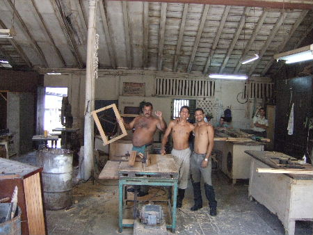 Joinery workshop, Santiago