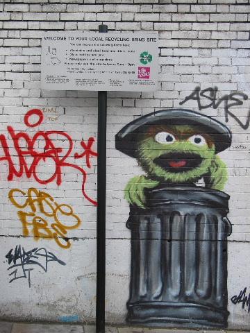 Graffiti, Old Street