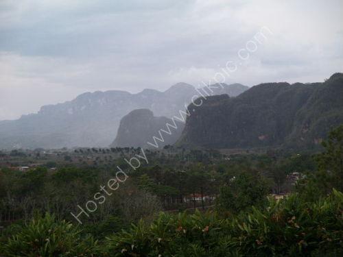 Vinales valley, evening