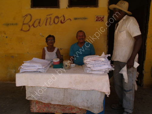 Bag sellers, Sancti Spiritus