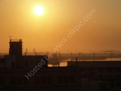 Havana: Port at sunrise