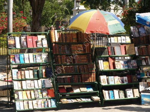 Havana: Secondhand book market stall