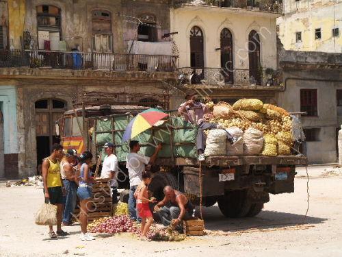 Havana: Vegetable lorry
