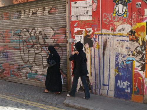 Muslim women, Brick Lane