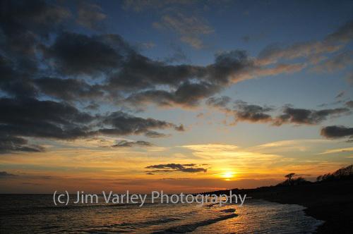 Climping Beach Sunset