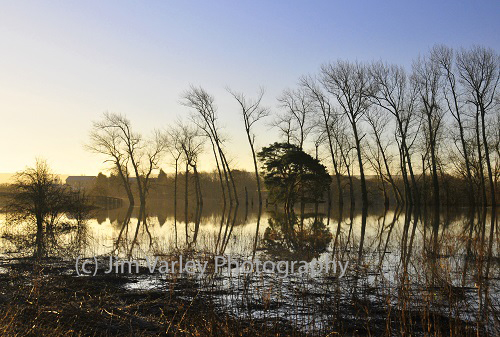 Stopham Floods At Dawn