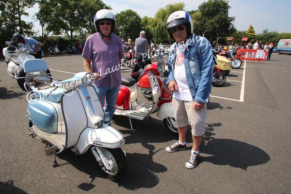 Scooter Ride In at Sammy Miller Motorbike Museum
