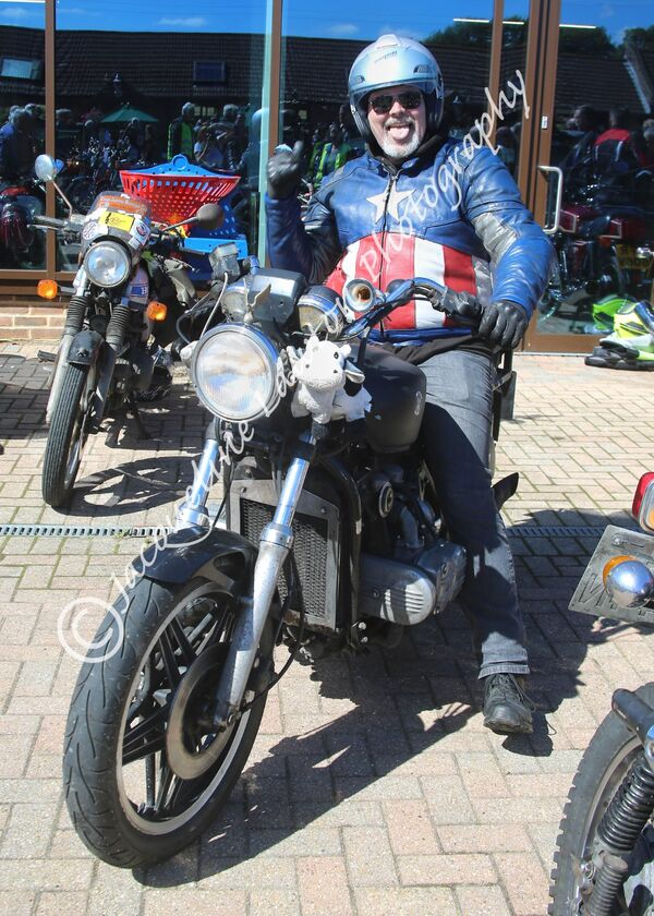 Sammy Miller's Vintage Japanese Bike Ride In