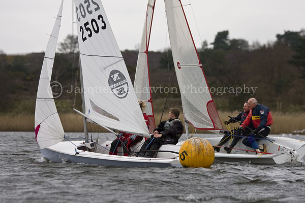 Lark and Icon (first and second respectively) battle it out at the Frensham Frenzy